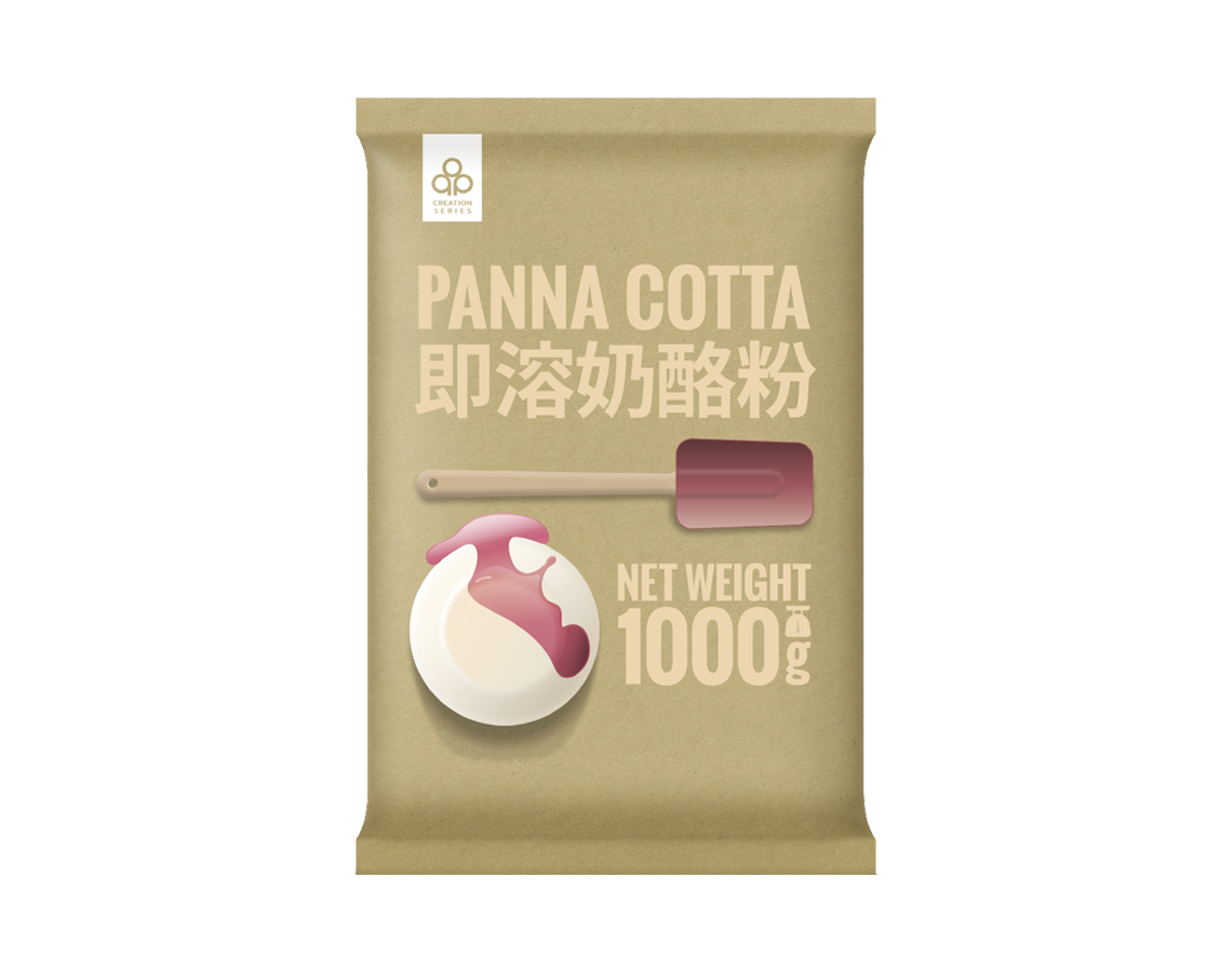 Instant panna cotta mix and other pastry mix bases